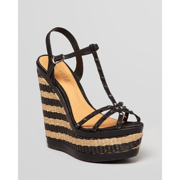 a276d892d9 Schutz suede studded wedge sandals INACIA. M_5c0b1eb2409c15ec46aedd24